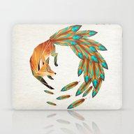 Fox Cercle Laptop & iPad Skin