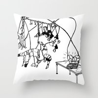 Tape Throw Pillow