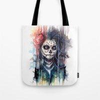 Sugar Skull - Calavera D… Tote Bag