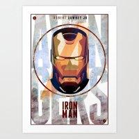 Avengers : IRON MAN Prin… Art Print