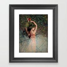 Snow White (Schneewittchen) Framed Art Print