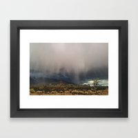 Arizona Storm Framed Art Print