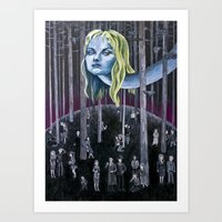 Who Killed Laura Palmer?… Art Print