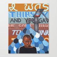 Haiti Benefit Painting 2 Canvas Print
