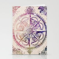 glitter Stationery Cards featuring Voyager II by Jenndalyn
