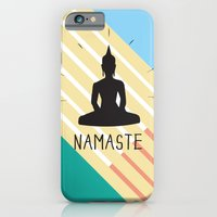 iPhone & iPod Case featuring NAMASTE COLOR by IamDesigner