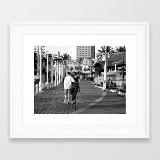 Simply Love Framed Art Print