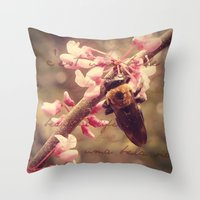 It's A Beautiful Life Throw Pillow