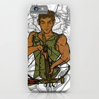 iPhone & iPod Case featuring Daryl by Armani jane
