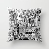 HONG KONG CLUB Throw Pillow