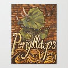 Pengillitops Canvas Print