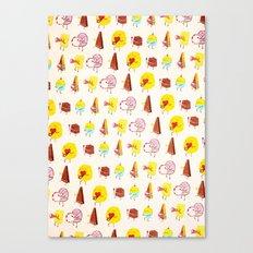 Cake parade Canvas Print