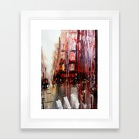 Paris Atmospheric  #4 Framed Art Print