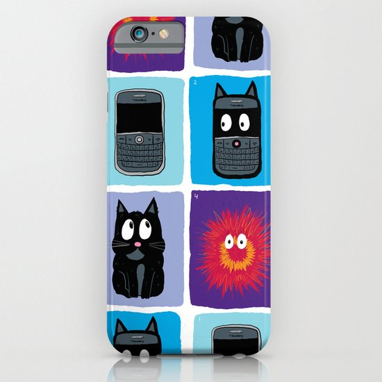 Don't Let Your BlackBerry Turn into Exploding Cats.  iPhone & iPod Case