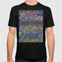 Party Mens Fitted Tee Tri-Black SMALL