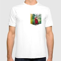 You Can Be My Mirror Baby Mens Fitted Tee White SMALL