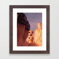 Bacelona Framed Art Print