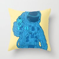 Possible Killer Throw Pillow