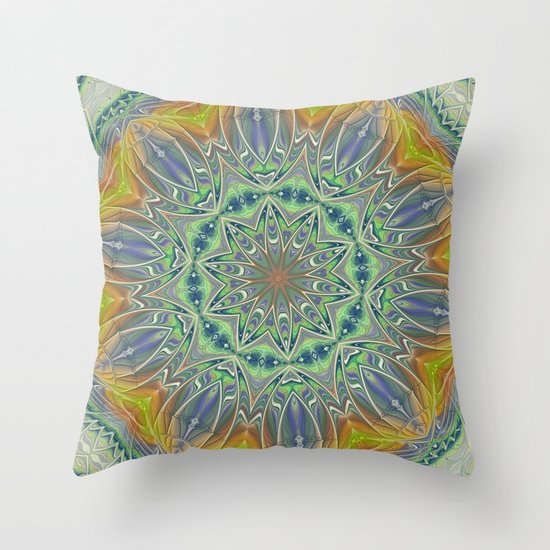 Square Abstract 003 Throw Pillow