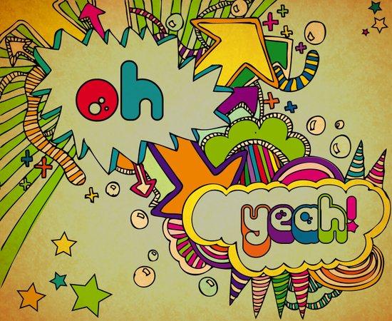 Yeah Yeah! Canvas Print
