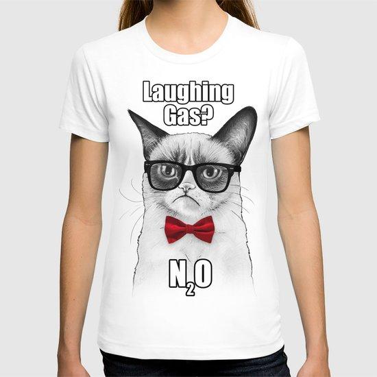 Grumpy Chemistry Cat T-shirt