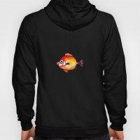 Pesce rosso Hoody