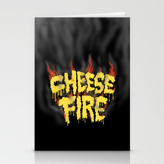 CHEESE FIRE!!! Stationery Card