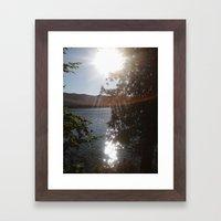 On An Island In The Sun Framed Art Print