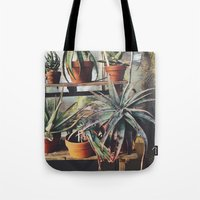 Cactus Wall Tote Bag