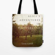 Alice's Adventures In Wonderland Tote Bag