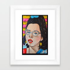 Dawn Weiner - Welcome to the Dollhouse  Framed Art Print