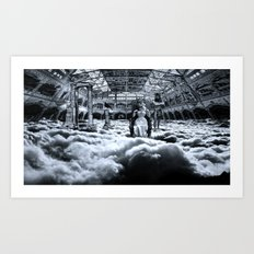 Do you know what's above you? Art Print