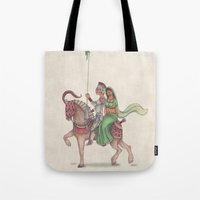 Indian Knight Tote Bag