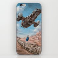 The Time Job - Firefly +… iPhone & iPod Skin
