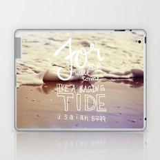 He will come like a raging tide Laptop & iPad Skin