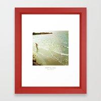 Fishing - Fripp Island South Carolina Framed Art Print