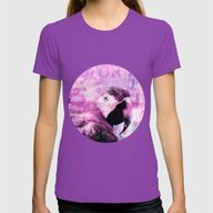 Crazy Parrot Womens Fitted Tee Ultraviolet SMALL