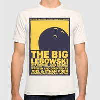 The Big Lebowski Mens Fitted Tee Natural SMALL