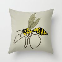 Gnarl Throw Pillow