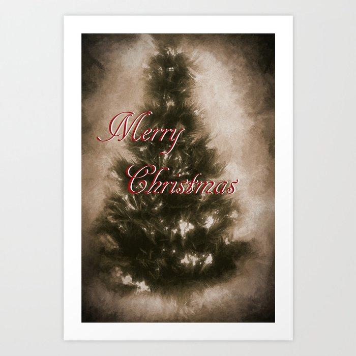 Old School Christmas Art Print By Gypsykissphotography