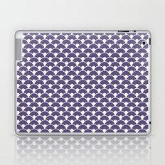 Dragon Scales Deep purple Laptop & iPad Skin