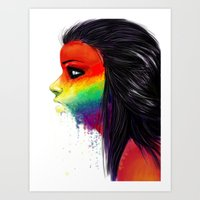Rainbows Art Print