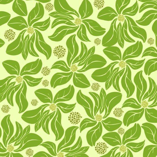 leafy pattern II Art Print