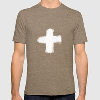 cross Mens Fitted Tee Tri-Coffee SMALL