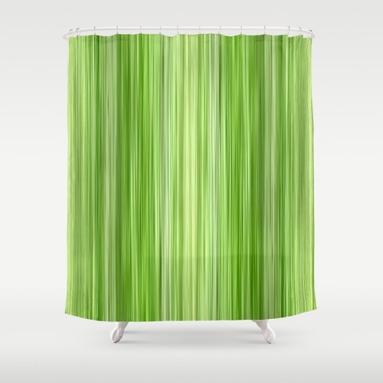ambient 3 in lime green shower curtain by bruce stanfield society6