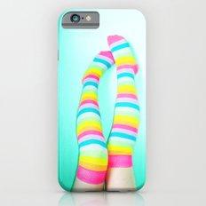 Rainbow Legs iPhone 6 Slim Case