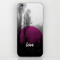 The Great Love - Romanti… iPhone & iPod Skin
