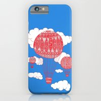 iPhone & iPod Case featuring Hot Air Balloon by lush tart