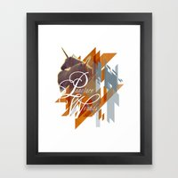 Puncture Wounds Framed Art Print