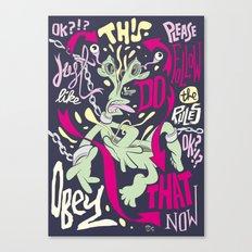 SPLIT Canvas Print